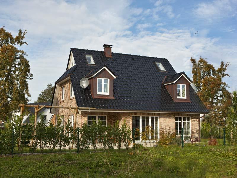 Haus Denker von Baumeister-Haus. Außenansicht Terrasse