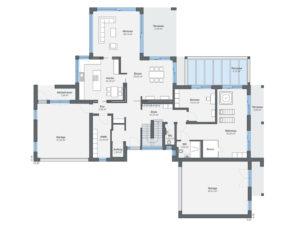 Musterhaus Lessing von Weber-Haus - EG