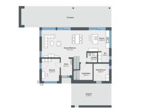 Musterhaus Rossier von Weber-Haus -EG