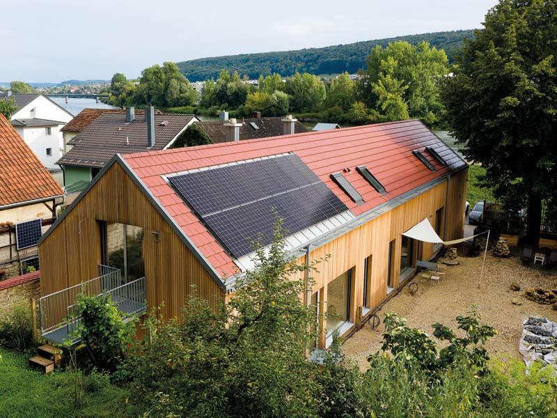 Plusenergiehaus Aumer von Jura-Holzbau