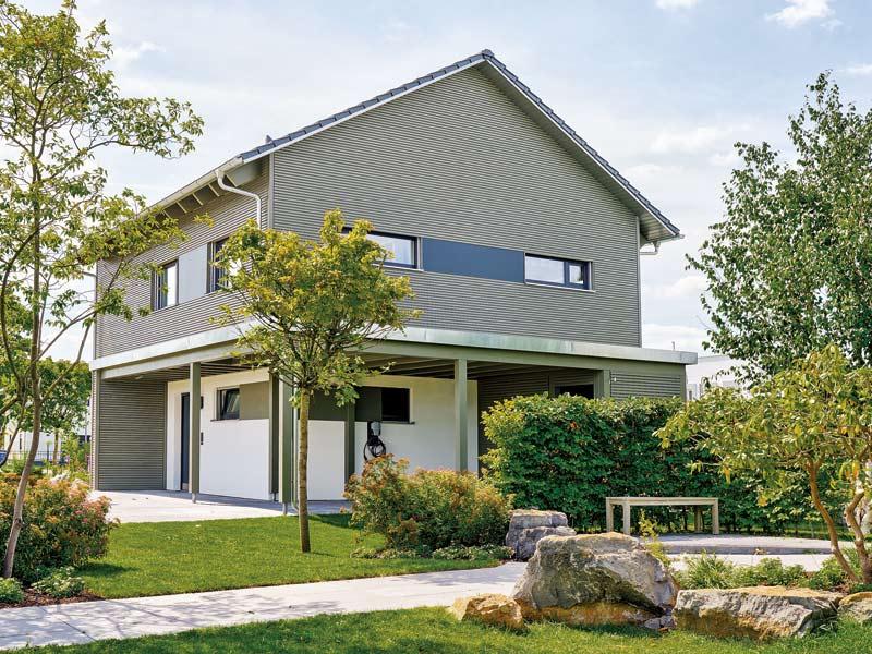 Plusenergiehaus Werder von Schwörerhaus