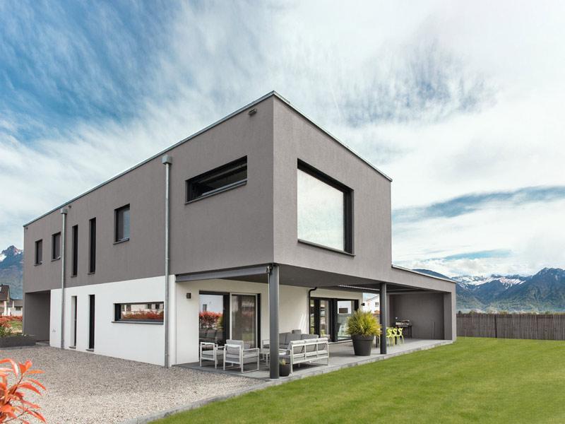 Kundenhaus Rossier von Weber-Haus -Außen