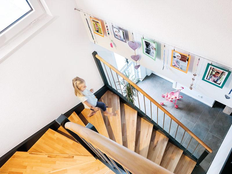 Halbgewendelte Treppe von Schwörerhaus