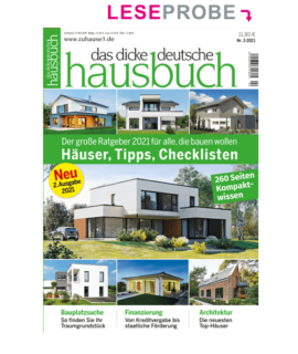 das dicke deutsche hausbuch 2021 Leseprobe