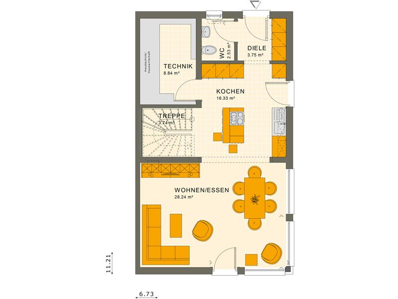 Erdgeschoss SOLUTION 124 L V2