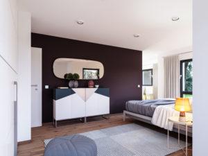 Solitaire-E-145 E2 -Schlafzimmer