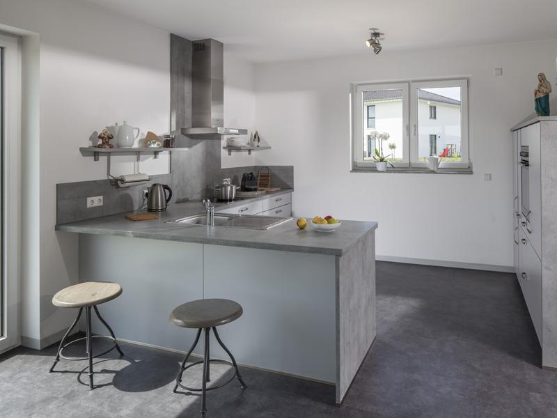 Offene Küche im Haus Daume