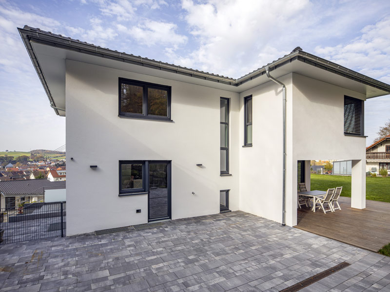 Haus Messerschmidt von Baumeister-Haus. Terrasse