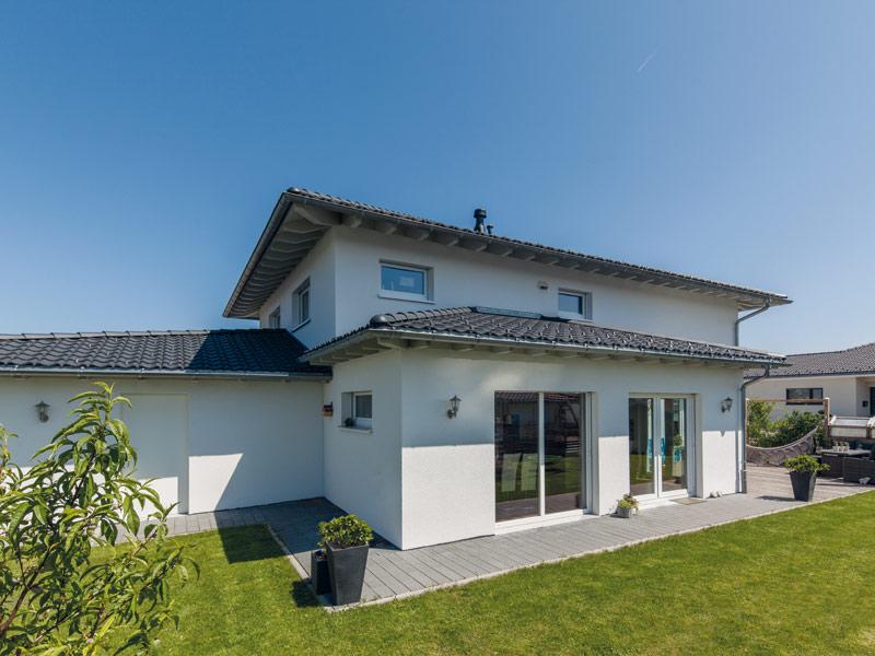 Stadtvilla Faber von Baumeister-Haus - Terrasse