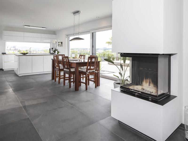 Einfamilienhaus Gerlach von Baumeister-Haus -Kamin