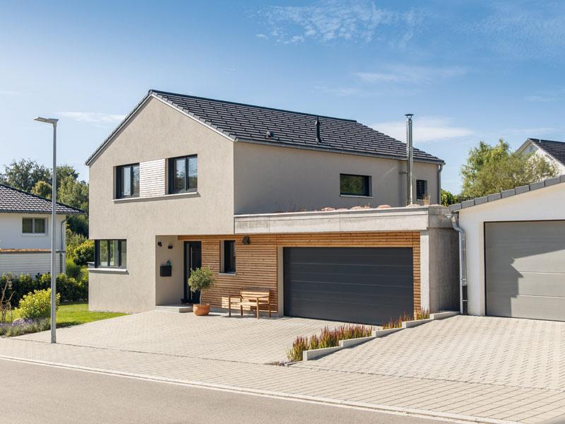 Haus Junghaus von Baumeister-Haus -Eingang