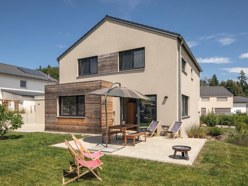Haus Junghans von Baumeister-Haus -Terrasse