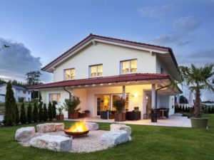 Haus Lehmann von Baumeister-Haus. Terrasse