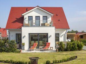 Haus Quistorp von Baumeister-Haus. Ansicht Garten