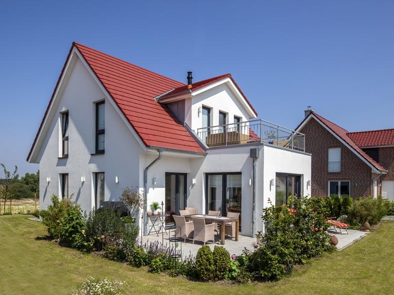 Haus Quistorp von Baumeister-Haus. Ansicht Terrasse