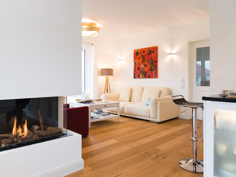 Haus Quistorp von Baumeister-Haus. Wohnbereich