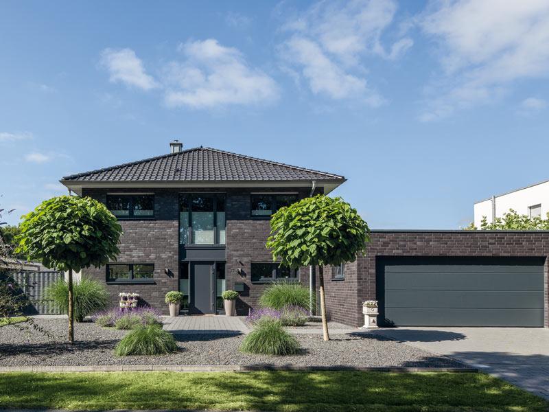 Haus Ückerroth von Baumeister-Haus. Ansicht Eingang
