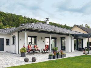 Haus Uhlmann von Baumeister-Haus - Terrasse