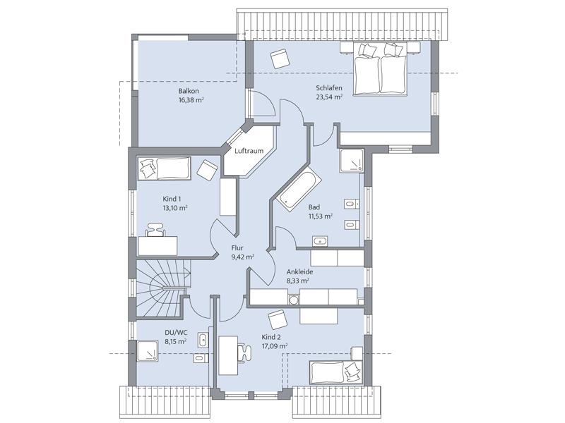 Haus Fuchs von Baumeister-Haus -DG