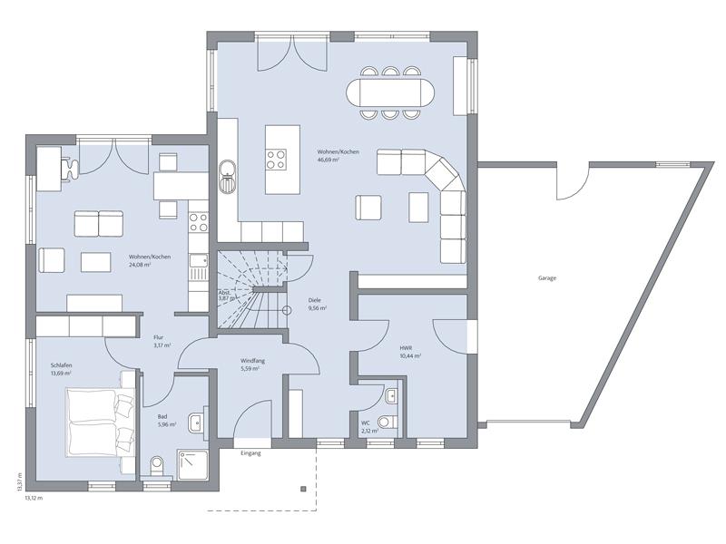 Haus Faber von Baumeister-Haus - EG