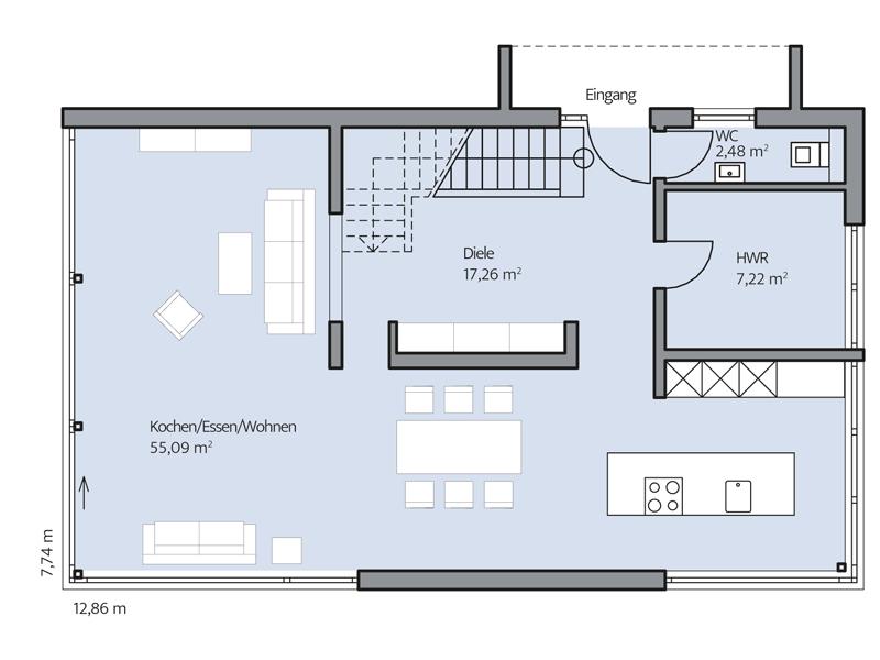 Haus Immel von Baumeister-Haus -EG