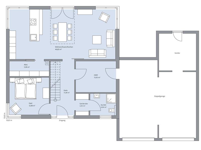 Haus Jessen von Baumeister-Haus - EG