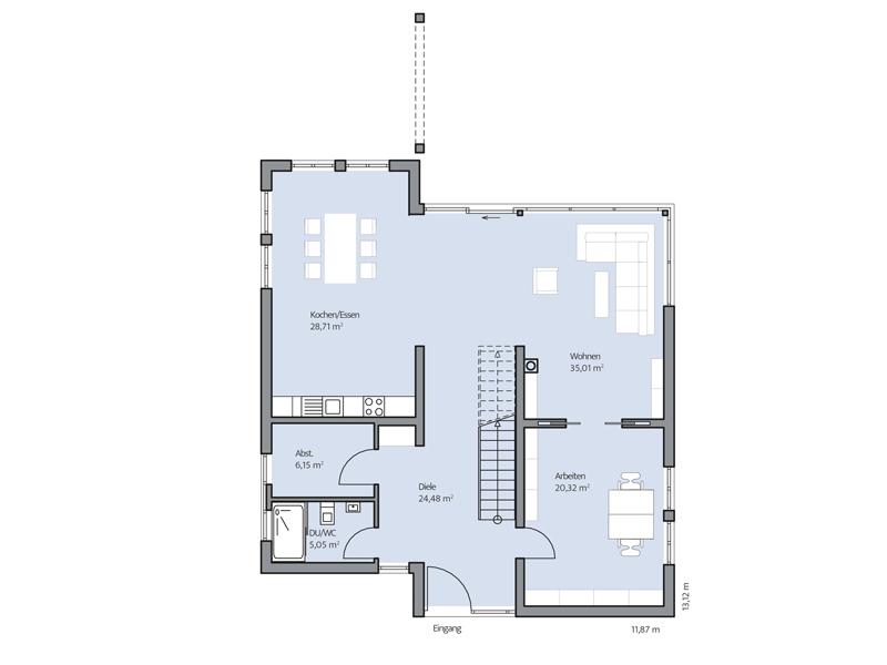 Haus Jonas von Baumeister-Haus - EG
