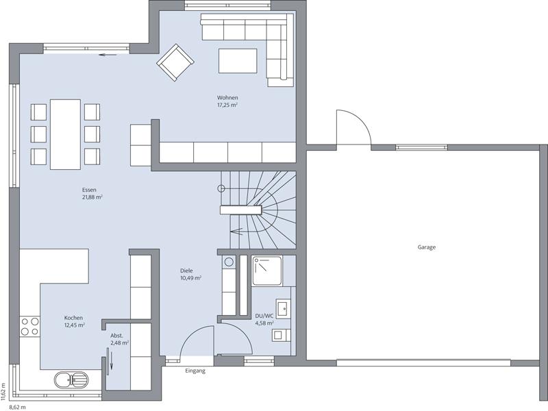 Haus Junghans von Baumeister-Haus -EG