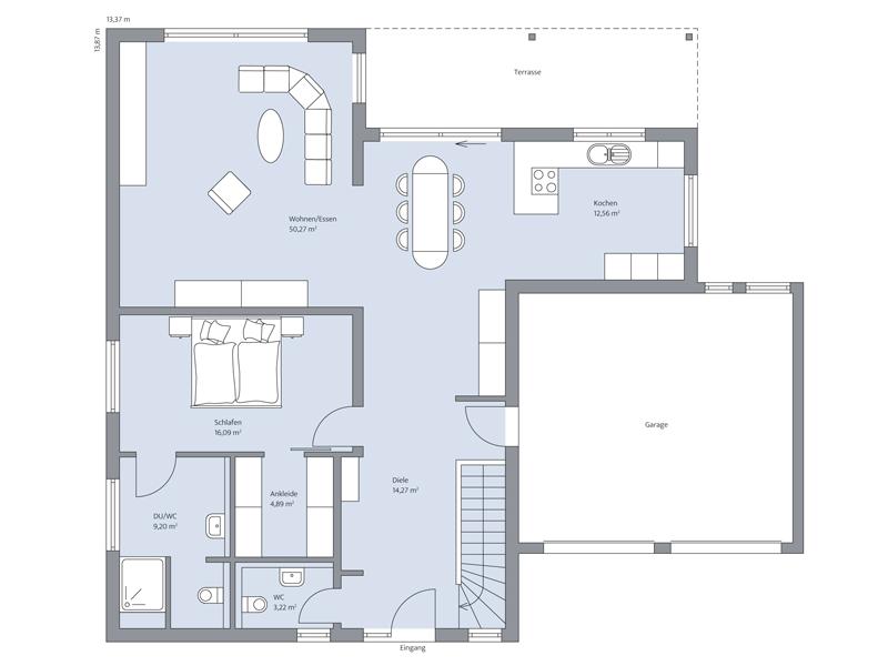 Haus Uhlmann von Baumeister-Haus - EG