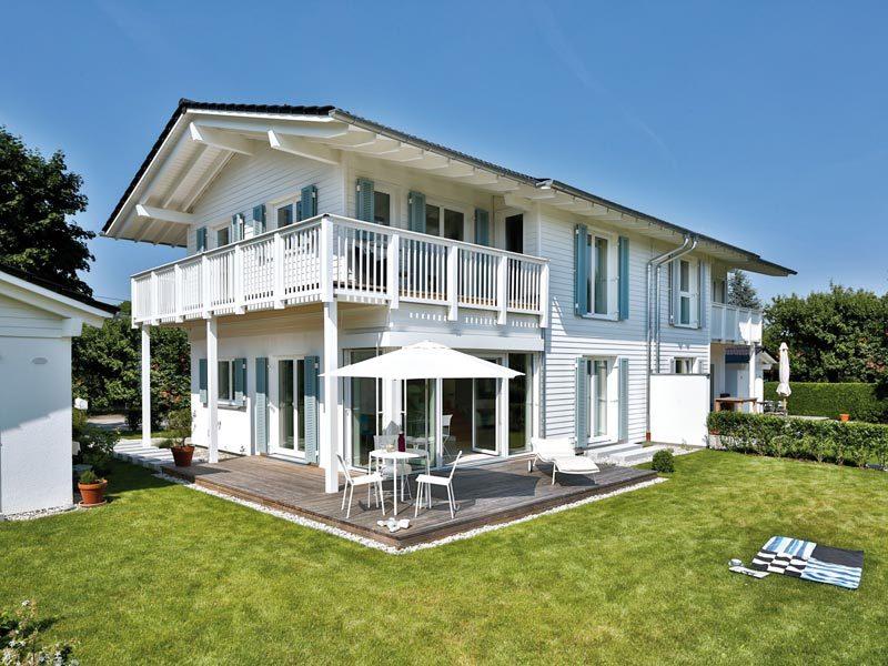 Vitalhaus Breitbrunn von Regnauer-Hausbau -Seitenansicht