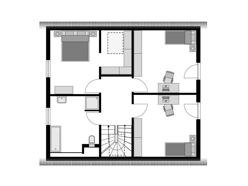 Streif-Haus Family II 152 - OG