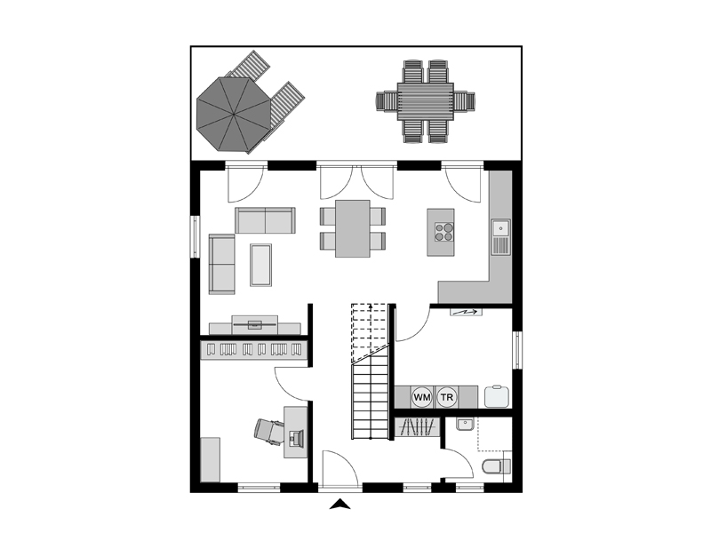 Streif-Haus Family III-127 -EG