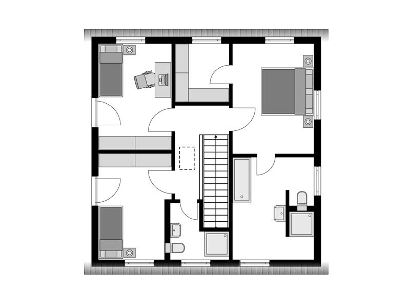 Streif-Haus Family III 127 OG