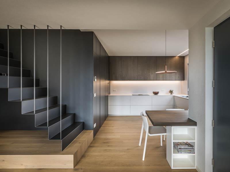 Haus Venezia von Rubner-Haus -Treppe