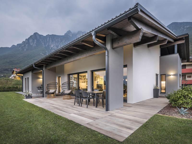 Haus Venezia von Rubner-Haus -Terrasse