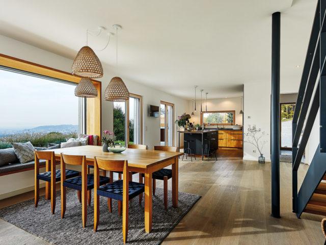 Gesund bauen mit Baufritz: Haus am Wald, Dielen