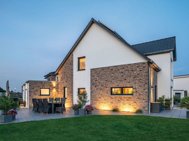 Haus Vahrenholt von Baumeister-Haus - Terrasse