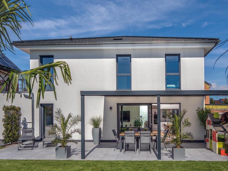 Haus Pfeilschmidt von Baumeister-Haus - Terrasse