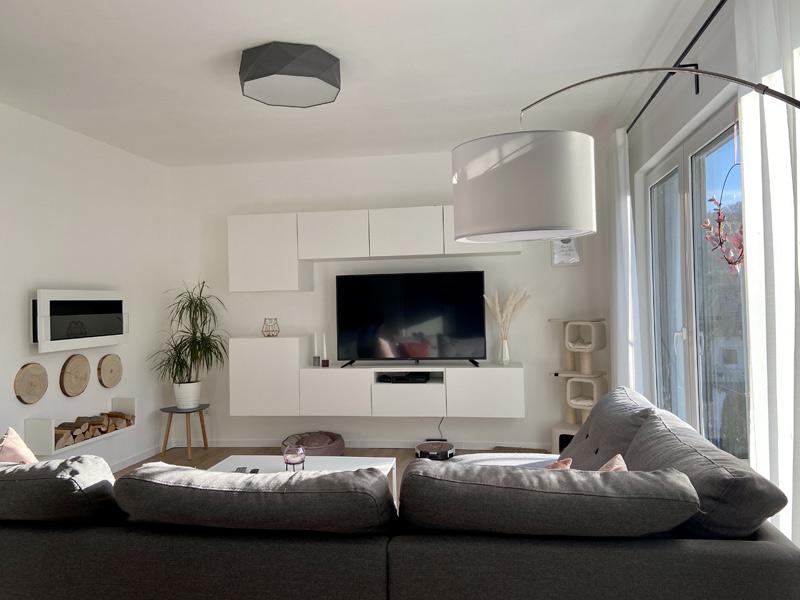 Wohnbereich in einem DAN-WOOD Family 129