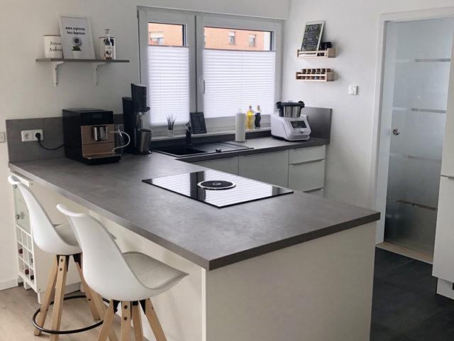 Küche im mit dem hauskonfigurator geplanten DAN-WOOD Family 129