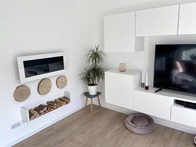 Wohnbereich im mit dem Hauskonfigurator geplanten DAN-WOOD Family 129