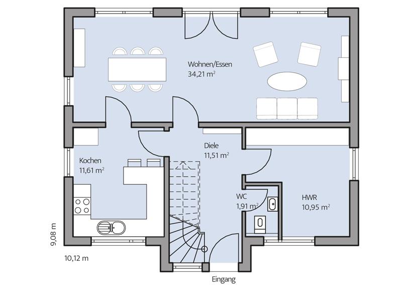 Haus Paulik von Baumeister-Haus - EG