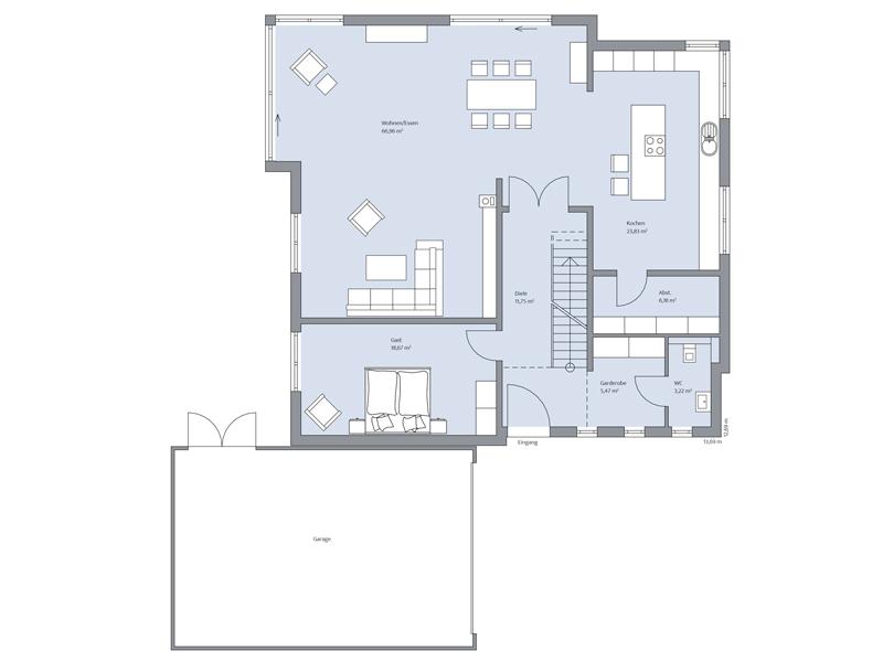 Haus Töpfer von Baumeister-Haus - EG