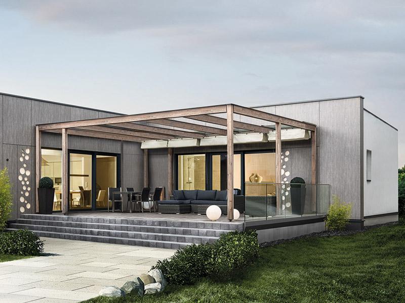 Bungalow Wien von Griffner Haus, Terrasse