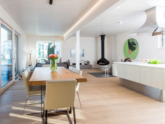 Bungalow Wien von Griffner Haus, Wohnbereich