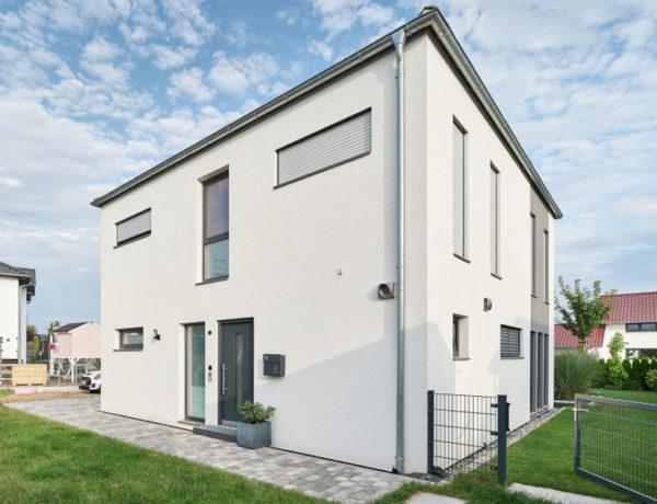 Luxhaus Walmdach 137 - Außenansicht