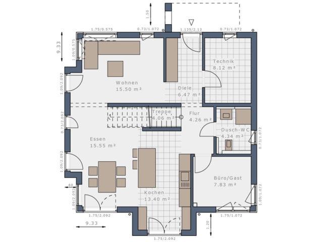 Solitaire E 145 E5 von Schwabenhaus - EG