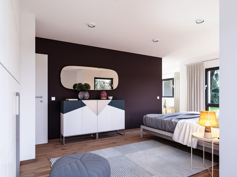 Solitaire E 145 E5 von Schwabenhaus - Schlafzimmer