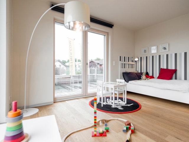 Square Eugendorf von Griffner Haus, Kinderzimmer
