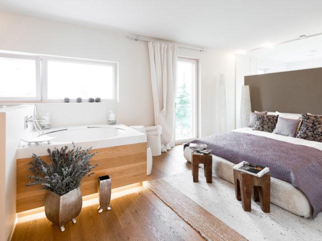 Square Eugendorf von Griffner Haus, Schlafzimmer